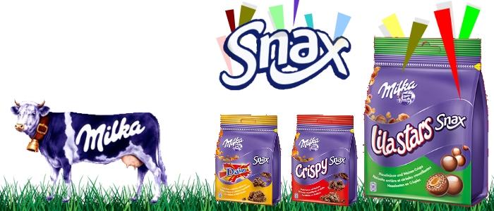Lecker! … diese neuen Milka Snax