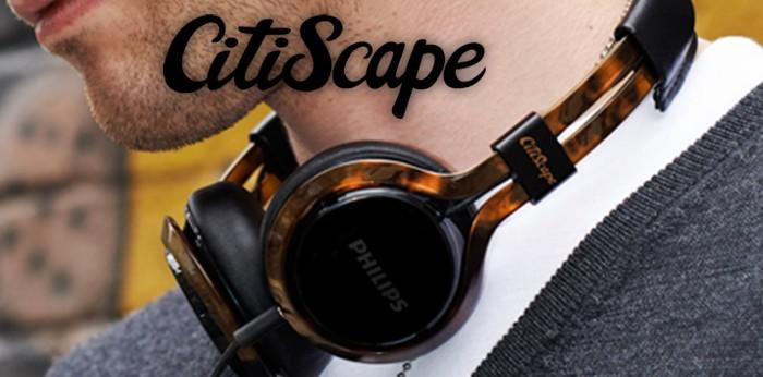 Philips CitiScape SHB8000BK/00 Bluetooth-Stereo-Kopfhörer mit Mikrofon schwarz
